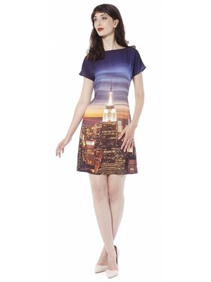 New York by Night Dress