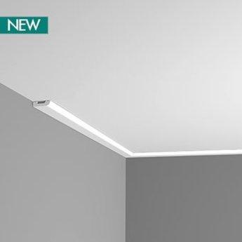 SX182 Plint/ Wandlijst/ Plafondlijst/ Deurlijst L 200 x H 5 x D 1,3 cm
