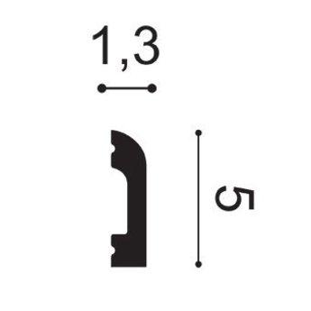 SX182 Kroonlijst/Wandlijst/Plint/Deuromlijsting