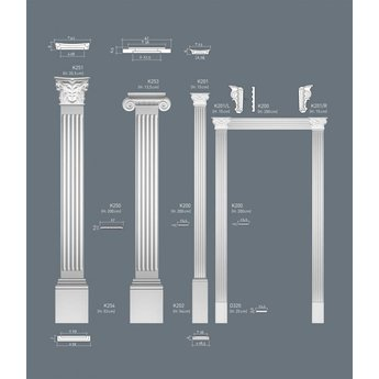 Orac Decor Luxxus Collectie Pilaster K254