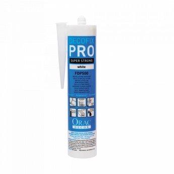 Decofix Pro Lijm FDP500 310ml: voor verlijming wand/plafond zuigende ondergrond