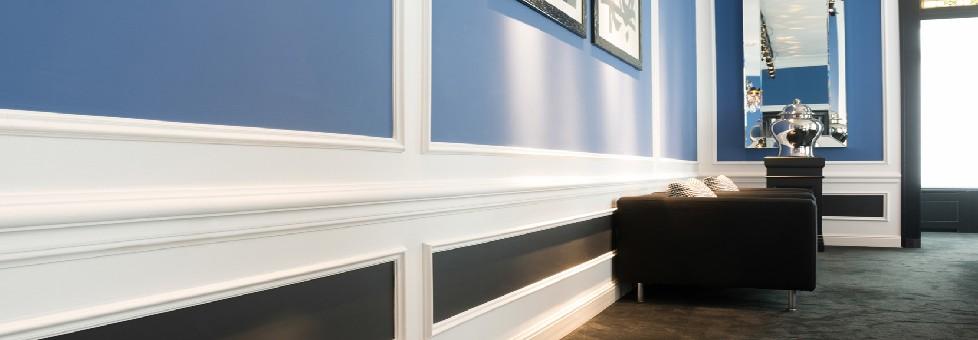 Wandlijsten en Lambrisering
