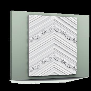 W130 CHEVRON 3D Wandpaneel 200 x 40 x 2 cm
