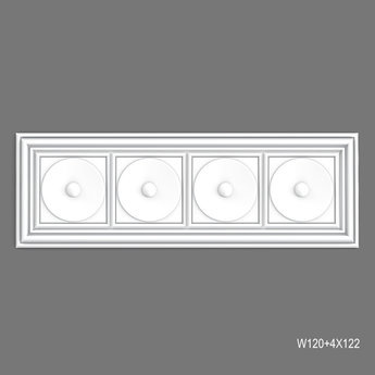 W120 Wandpaneel 150 x 50 x 3,2 cm Orac Decor