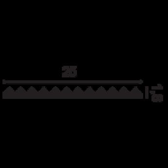 W108 ZIGZAG 3D Wandpaneel