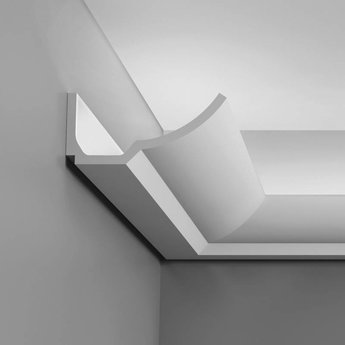 Kroonlijst voor Indirect Verlichting C351 BOAT Orac Decor Luxxus