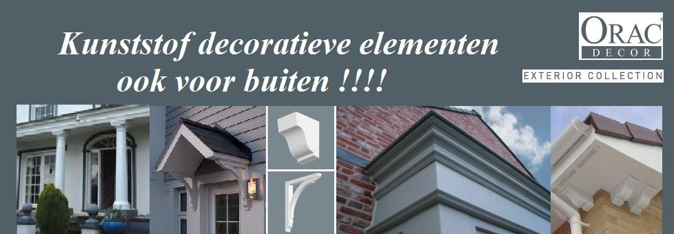 Decoratieve elementen voor buiten -eenvoudige installatie!