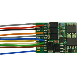 Zimo Lok Decoder MX634R Zimo NEM652 8-Polig DCC/MM + Stay alive