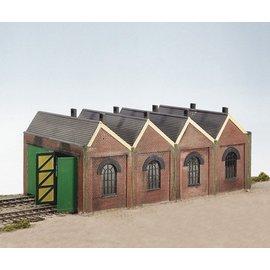 Wills Wills Craftsman Series Kit CK12 Two road engine shed (Gauge H0/00)