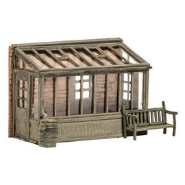 Wills Wills Scenic Series SS24 Conservatory with garden seat (Gauge H0/00)