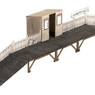 Wills Wills Scenic Series SS27 Station halt with shelter (Gauge H0/00)