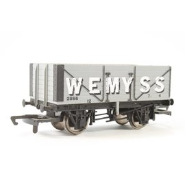 "Hornby Hornby R6327A BR ""7 Plank Wagon"" DC Epoche III (Spur 00/H0)"