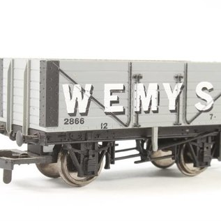 """Hornby Hornby R6327A BR """"7 Plank Wagon"""" DC periode III (schaal 00/H0)"""