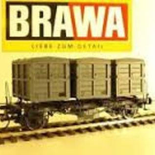 """Brawa Brawa 37161 Containertragwagen """"von Haus zu Haus"""" DB Ep. 3/4 Spur 0"""