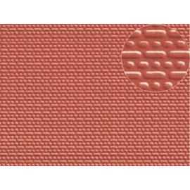 Slater's Plastikard SL402 Builder Sheet embossed with english bond brickwork in stone red, N-Gauge, plastic