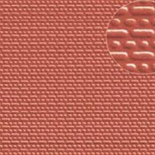 Slater's Plastikard SL402 Builder Sheet embossed with english bond brickwork in stone red, N-Gauge, plastic