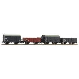 Liliput Liliput L230106 set of 4 NS goods wagons DC era III (gauge H0)