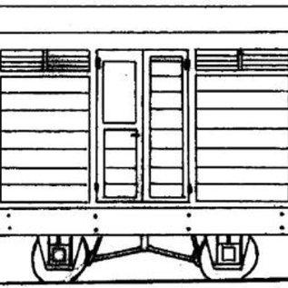 "Parkside Dundas Parkside Dundas DM03A ""Guards Van"" (gauge OO9/HOe)"