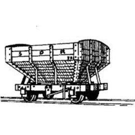 "Parkside Dundas Parkside Dundas DM06 ""Snailbeach District Railways Hopper Wagon"" (Spur OO9/HOe)"