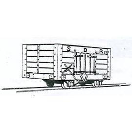"""Dundas Models (formerly Parkside Dundas) Parkside Dundas DM07 """"Snailbeach District Railways Coal Wagon"""" (schaal OO9/HOe)"""