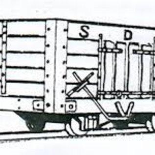 "Dundas Models (formerly Parkside Dundas) Parkside Dundas DM07 ""Snailbeach District Railways Coal Wagon"" (Spur OO9/HOe)"