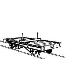 """Parkside Dundas Parkside Dundas DM09 """"Bolster Wagon (paar)"""" (schaal OO9/HOe)"""