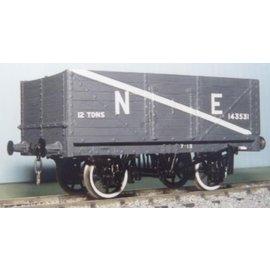 "Parkside Dundas Parkside Dundas PS03 ""RCH 1923 Pattern 7 Plank Mineral Wagon"" (gauge O)"