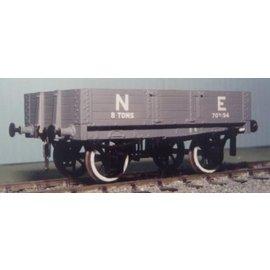 "Parkside Dundas Parkside Dundas PS06 ""LNER (ex NBR) 4 Plank Open Goods Wagon"" (Spur O)"