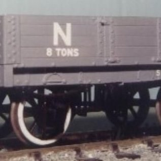 """Dundas Models (formerly Parkside Dundas) Parkside Dundas PS06 """"LNER (ex NBR) 4 Plank Open Goods Wagon"""" (schaal O)"""