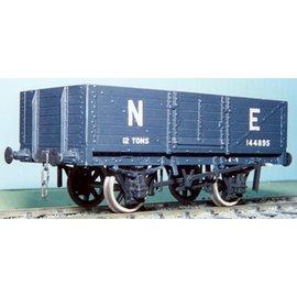 "Parkside Dundas Parkside Dundas PS11 ""LNER 12 Ton 6 Plank Open Wagon"" (schaal O)"