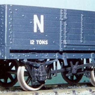 """Dundas Models (formerly Parkside Dundas) Parkside Dundas PS11 """"LNER 12 Ton 6 Plank Open Wagon"""" (Spur O)"""