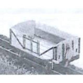 "Dundas Models (formerly Parkside Dundas) Parkside Dundas DM15 ""Lynton & Barnstaple 4 Wheel Open Wagon (Side-Hung-Doors)"" (schaal OO9/HOe)"