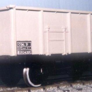 "Dundas Models (formerly Parkside Dundas) Parkside Dundas PS15 ""BR 21 Ton Mineral Wagon (Diag. 1/107)"" (schaal O)"