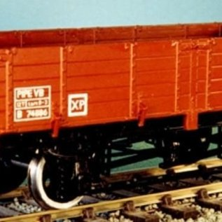 "Dundas Models (formerly Parkside Dundas) Parkside Dundas PS17 ""BR 12 Ton Pipe Wagon (Diag. 1/462)"" (schaal O)"