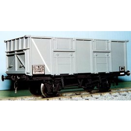 "Dundas Models (formerly Parkside Dundas) Parkside Dundas PS25 ""BR 24,5 Ton Mineral Wagon (Diag. 1/115)"" (schaal O)"