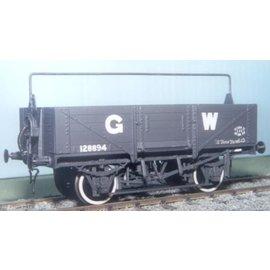 """Parkside Dundas Parkside Dundas PS27 """"GWR 12/13 Ton Open Goods Wagon (Diag. 032/033)"""" (schaal O)"""