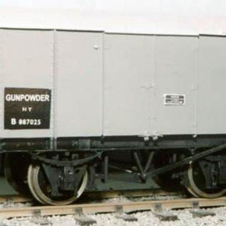 """Dundas Models (formerly Parkside Dundas) Parkside Dundas PS112 """"LMS (LNER BR) Gunpowder Van"""" (Spur O)"""