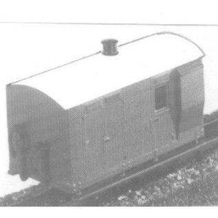 """Parkside Dundas Parkside Dundas DM17 """"Vale of Rheidol 4 Wheel Guard's Van"""" (Gauge OO9/HOe)"""