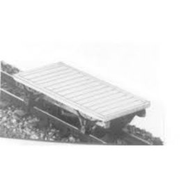 "Parkside Dundas Parkside Dundas DM23 ""Lynton & Barnstaple 4 Wheel Wagon / Van Chassis"" (schaal OO9/HOe)"