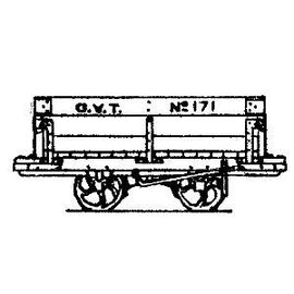 "Parkside Dundas Parkside Dundas DM39 ""Glyn Valley Tramway 4 Ton Mineral Wagon"" (schaal OO9/HOe)"