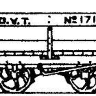 "Dundas Models (formerly Parkside Dundas) Parkside Dundas DM39 ""Glyn Valley Tramway 4 Ton Mineral Wagon"" (Spur OO9/HOe)"