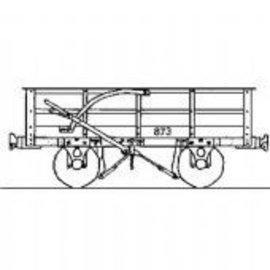 "Parkside Dundas Parkside Dundas DM53 ""Festiniog Railway 3 Ton Slate Wagon"" (schaal OO9/HOe)"