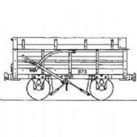"Parkside Dundas Parkside Dundas DM55 ""Festiniog Railway Granite (End Door) Wagon"" (schaal OO9/HOe)"