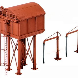 Ratio Ratio Accessories 215 Wasserturm Rechteckig (Spur N)
