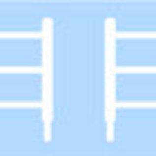 Ratio Ratio Accessories 216 houten hekwerk (schaal N)