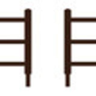 Ratio Ratio Accessories 217 houten hekwerk (schaal N)