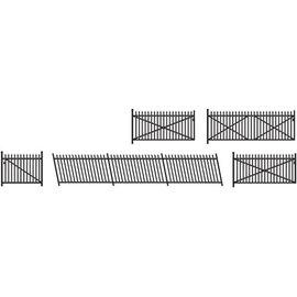Ratio Ratio Accessories 246 spijlenhekwerk en poorten (schaal N)