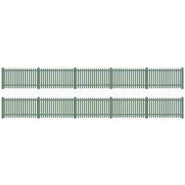 Ratio Ratio Lineside 431 Station Fencing Green (Gauge H0/00)