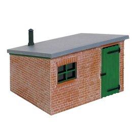 Peco Peco LK705 Brick Lineside Hut (Gauge 0)