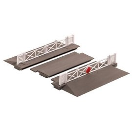 Ratio Ratio Accessories 234 Level Crossing with Gates (Gauge N)